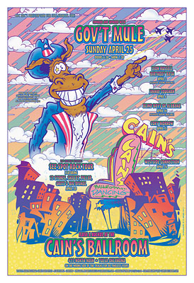 Gov't Mule Concert Posters