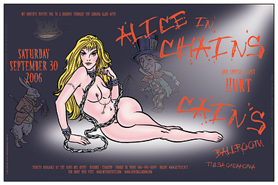 Alice in Chains Concert Posters