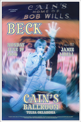 Beck Concert Posters