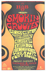 George Clinton Concert Posters Cypress Hill