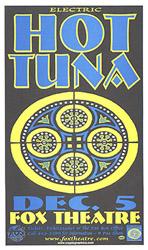 Hot Tuna Concert Posters