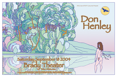 Don Henley Concert Posters