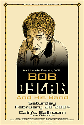 Bob Dylan Concert Posters