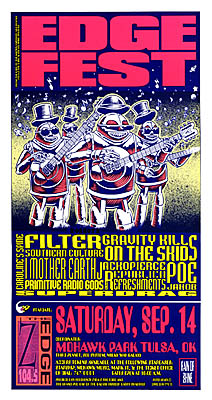 Filter Gravity Kills Concert Posters