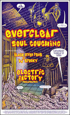 Everclear Electric Factory Concert Posters Soul Coughing