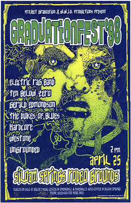 Electric Rag Band Concert Posters