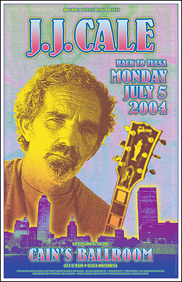 J. J. Cale Concert Posters