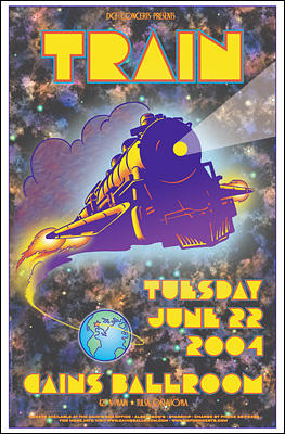 Train Concert Posters