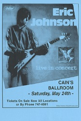 Eric Johnson Concert Posters